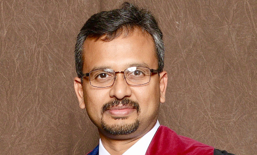 Dr Manoj Sivan, from the Leeds Institute of Rheumatic and Musculoskeletal Medicine. October 2020.