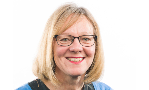 A profile picture of Professor Julia Brown, Chair of the NIHR Health Technology Assessment Funding Committee. Uploaded March 2021.