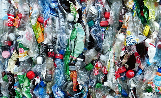 Plastics to be recycled