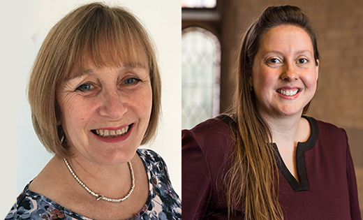 Professor Tina Overton and Dr Christina Edgar, who have been appointed Director of LITE and Director of Student Opportunity at Leeds respectively. January 2019