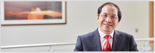 Pro-Vice-Chancellor: International, Professor Hai-Sui Yu, for Inside Track column