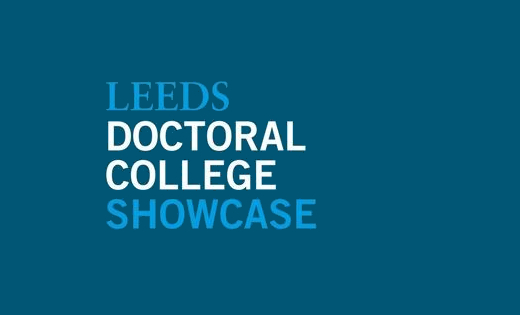 The logo for the Leeds Doctoral College Showcase 2020. June 2020.