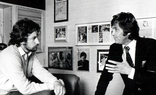 Melvyn_Bragg_interviewing_Steven_Spielberg