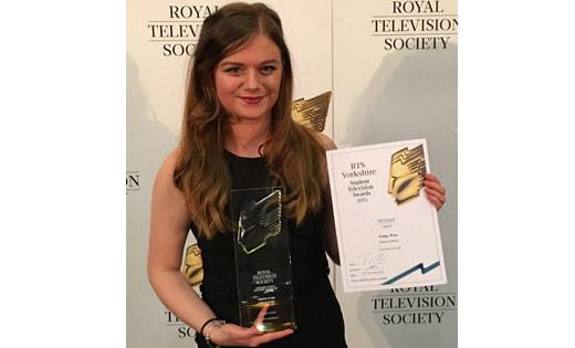 Royal television society award