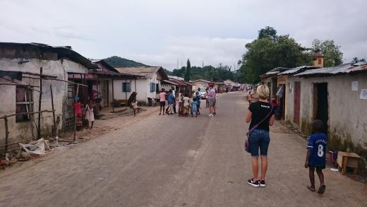 Tokeh village in Sierra Leone