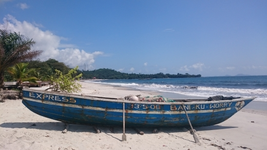 Beautiful beaches in the village