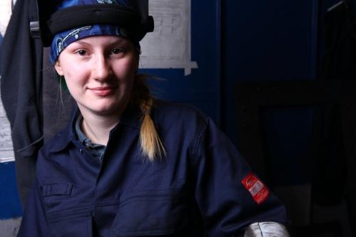 Sophy: Welding Technician at Hydram