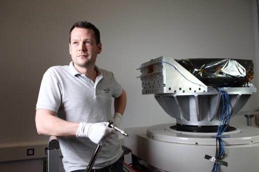 Joe: Mechanical Vibration Technician at RAL Space
