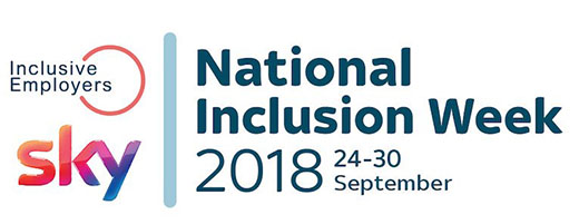 National inclusion week logo August 2018